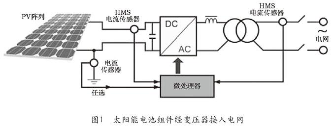 电流传感器在太阳能光电系统中应用方案1
