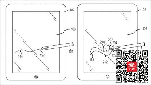 可伸缩触控笔专利