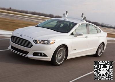 福特采用四个光探测距离传感器实现自动驾驶技术