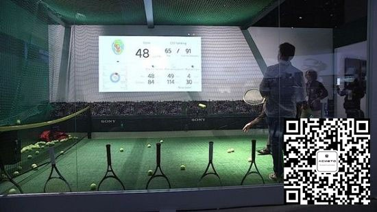 网球拍传感器