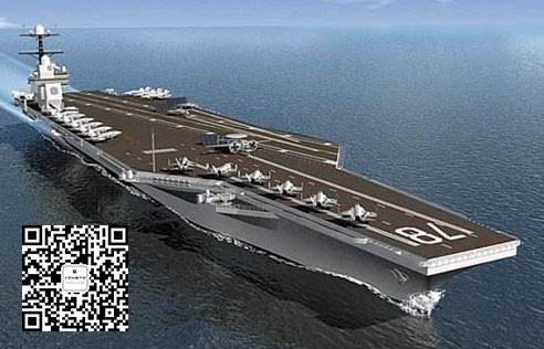 美新一代超级航母全面体