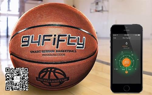 装有九个传感器的篮球 94Fifty