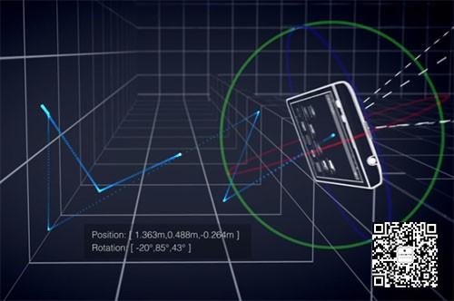 谷歌内置3D传感器手机上图示