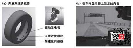 用来检测路面状况的加速度传感器
