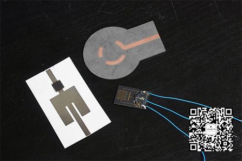 喷墨打印的无线传感器爆炸装置检测器