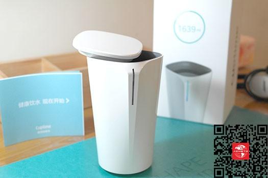 智能水杯-内置传感器促成良好饮水习惯