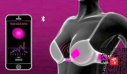 奇趣发现:内置传感器可自动解锁的智能文胸